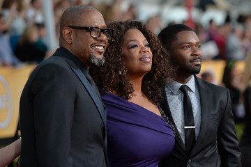 Oprah Winfrey Forest Whitaker 20th Annual Screen Actors Guild Awards - Red Carpet