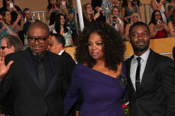 Oprah Winfrey Forest Whitaker 20th Annual Screen Actors Guild Awards - Arrivals