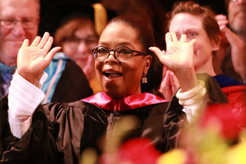 Oprah Winfrey The USC Annenberg School For Communication And Journalism Celebrates Commencement With Keynote Address From Oprah Winfrey