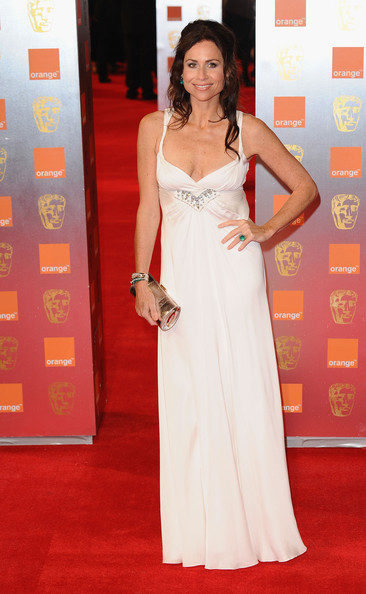 Actress Minnie Driver attends the 2011 Orange British Academy Film Awards at The Royal Opera House on February 13, 2011 in London, England.