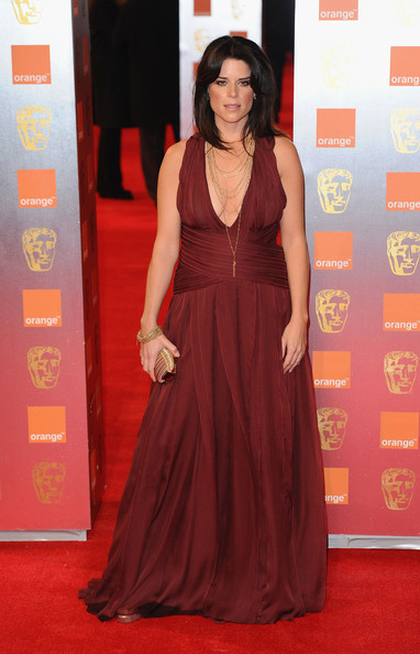 Actress Neve Campbell arrives for the Orange British Academy Film Awards at The Royal Opera House on February 13, 2011 in London, England.