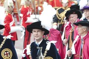 Prince Edward, Duke of Kent attends the Most Noble Order of the Garter service at St George's Chapel, Windsor Castle on June 17, 2013 in Windsor, England.