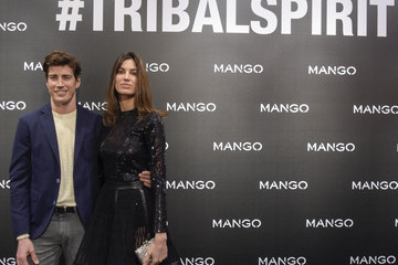 Oriol Elcacho Kendall Jenner Presents 'Tribal Spirit: the Secret Party' By Mango in Barcelona