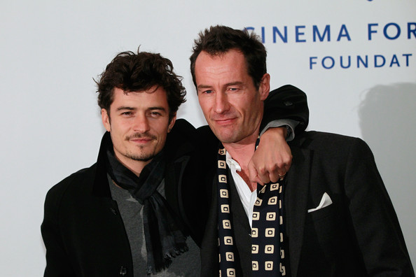 Orlando Bloom Actor Orlando Bloom (L) and his cousin director Sebastian Copeland arrive at the Cinema For Peace Green Evening 2010 at the China Club on November 12, 2010 in Berlin, Germany.