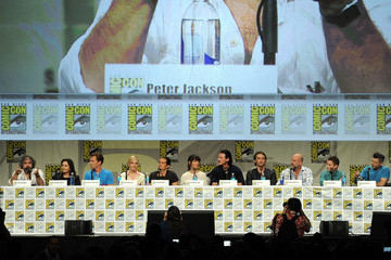 Orlando Bloom Philippa Boyens Warner Bros. Pictures Panel And Presentation - Comic-Con International 2014