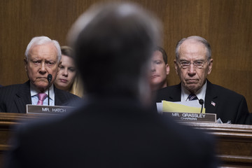 Orrin G. Hatch Dr. Christine Blasey Ford And Supreme Court Nominee Brett Kavanaugh Testify To Senate Judiciary Committee