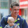 Oscar Hussey Mike Hussey Announces Retirement From International Cricket