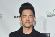 John Cho attends Oscar Wilde Awards 2019 on February 21, 2018 in Los Angeles, California.