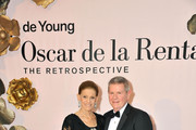 """(L-R) Annette de la Renta and Deputy Director of Museums and Chief Operating Officer Richard Benefield attend the """"Oscar de la Renta: The Retrospective"""" Benefit Gala at the de Young on March 9, 2016 in San Francisco, California."""