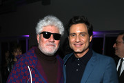 (L-R) Director Pedro Almodovar and actor Edgar Ramirez attend The Oscars International Feature Film Nominees Cocktail Reception on February 07, 2020 in Los Angeles, California.