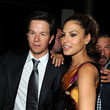 She always has a shoulder to lean on in Mark Wahlberg.