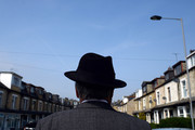 The Respect Party's George Galloway during election campaigning on April 24, 2015 in Bradford, England. Britain goes to the polls in a General Election on May 7.