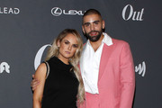 JoJo and Philip Picardi attend Out Magazine's Out100 Event presented by Lexus on November 21, 2019 in Long Island City, New York.