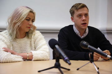 Owen Jones Charlotte Church Appears at 'Here's Your Opposition' Press Conference