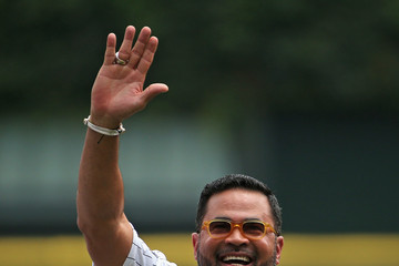 Ozzie Guillen Kansas City Royals v Chicago White Sox