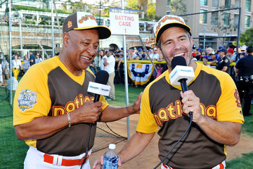 Ozzie Smith Andy Cohen Hosts His SiriusXM Show From the All-Star Legends & Celebrity Softball Game