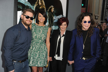 """Ozzy Osbourne Jack Osbourne Premiere Of Columbia Pictures' """"Total Recall"""" - Red Carpet"""