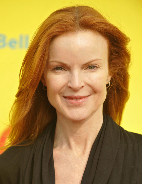 marcia cross natural hair color