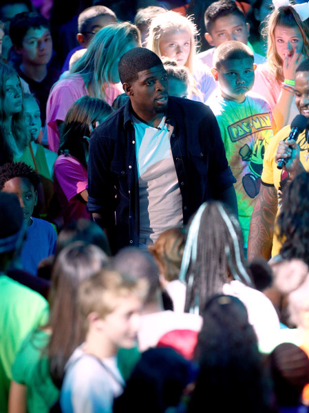 Nickelodeon Kids' Choice Sports Awards 2017 - Show [people,crowd,audience,event,youth,community,fun,performance,adaptation,ceremony,player,subban,california,los angeles,pauley pavilion,nhl,nickelodeon kids choice sports awards 2017 - show,nickelodeon kids choice sports awards]