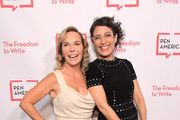 Marti Noxon (L) and Lisa Edelstein attend PEN America 2018 LitFest Gala at the Beverly Wilshire Four Seasons Hotel on November 02, 2018 in Beverly Hills, California.