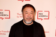 Ai Weiwei arrives at the PEN America LitFest Gala at the Beverly Wilshire Hotel on November 2, 2018 in Beverly Hills, California.