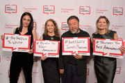 Executive Director of PEN America Los Angeles Michelle Franke, CEO of PEN America Suzanne Nossel, Ai Weiwei and Jennifer Egan attend PEN America 2018 LitFest Gala at the Beverly Wilshire Four Seasons Hotel on November 02, 2018 in Beverly Hills, California.