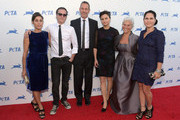 (L-R) Actors Summer Phoenix , Joaquin Phoenix, Jeffrey Weisberg, actress Rain Phoenix, Arlyn Phoenix and actress Liberty Phoenix attend PETA's 35th Anniversary Party at Hollywood Palladium on September 30, 2015 in Los Angeles, California.  (Photo by Todd Williamson/Getty Images for People for the Ethical Treatment of Animals, Inc. (PETA))  (Photo by Jason Kempin/Getty Images for People for the Ethical Treatment of Animals, Inc. (PETA))