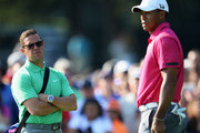 Tiger Woods and Sean Foley Photos Photo