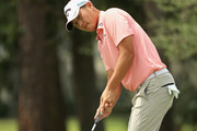 Danny Lee of New Zealand putts during the final round of THE PLAYERS Championship on the Stadium Course at TPC Sawgrass on May 13, 2018 in Ponte Vedra Beach, Florida.