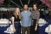 Amanda Seyfried, Milo Ventimiglia and Mandy Moore attend the POPSUGAR Play/ground at Pier 94 on June 22, 2019 in New York City.