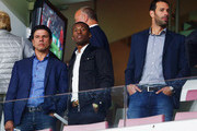 Ruud van Nistelrooy and Georginio Wijnaldum Photos Photo