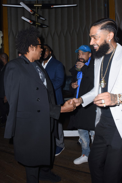 Nipsey Hussle in PUMA x Nipsey Hussle 2019 Grammy Nomination Party ... 9db2bcdff