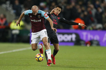 Pablo Javier Zabaleta West Ham United v Arsenal - Premier League