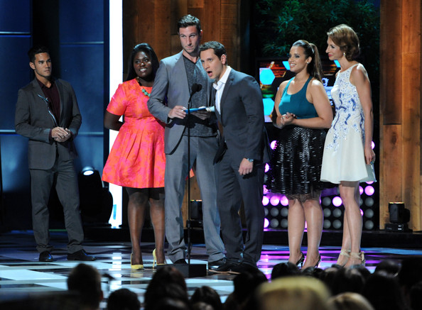 Young Hollywood Awards Show [performance,entertainment,event,performing arts,musical theatre,heater,talent show,fashion,public event,musical,actors,danielle brooks,alysia reiner,dascha polanco,matt mcgorry,pablo schreiber,young hollywood awards,l-r,samsung galaxy,samsung galaxy - show]