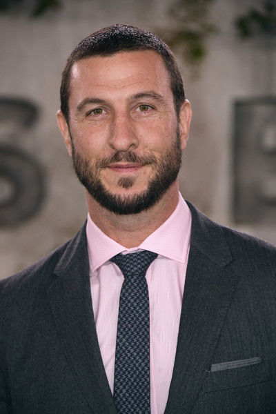 World Premiere Of Apple TV+'s 'See' - Arrivals [hair,facial hair,beard,suit,moustache,eyebrow,hairstyle,chin,white-collar worker,forehead,arrivals,tv,pablo schreiber,california,los angeles,fox village theater,apple,world premiere,world premiere]