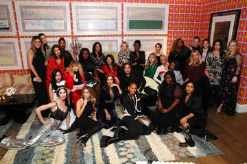 Padma Lakshmi InStyle Badass Women Dinner Hosted By Taraji P Henson And Laura Brown On February 2, 2019 In New York City