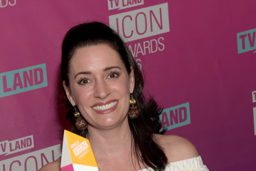 Paget Brewster 2016 TV Land Icon Awards - Backstage
