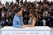 "Antonio Banderas and Penelope Cruz attend the ""Pain And Glory (Dolor Y Gloria/ Douleur Et Glorie)"" photocall during the 72nd annual Cannes Film Festival on May 18, 2019 in Cannes, France."