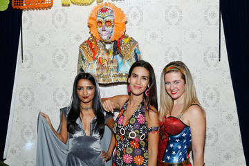 Palak Patel Lauren Scala And Natalie Zfat's Fourth Annual Scaring Is Caring Halloween Party