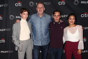 "(L-R) Brigette Lundy-Paine, Michael Rapaport, Keir Gilchrist and Amy Okuda from Netflix's ""Atypical"" attend The Paley Center for Media's 2018 PaleyFest Fall TV Previews - Netflix at The Paley Center for Media on September 6, 2018 in Beverly Hills, California."