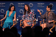 (L-R) Rosa Salazar, Angelique Cabral and Constance Marie of 'Undone' appear on stage at The Paley Center For Media's 2019 PaleyFest Fall TV Previews - Amazon at The Paley Center for Media on September 06, 2019 in Beverly Hills, California.