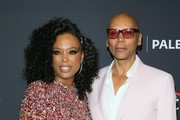 "Aisha Tyler and RuPaul Charles attend the Paley Center For Media's 2019 PaleyFest LA - ""RuPaul's Drag Race"" held at the Dolby Theater on March 17, 2019 in Los Angeles, California."