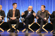 (L-R)  Actress Kristen Bell and actors Jason Dohring, Enrico Colantoni, Ryan Hansen, and Chris Lowell speak during The Paley Center for Media's PaleyFest 2014 Honoring 'Veronica Mars' at the Dolby Theatre on March 13, 2014 in Hollywood, California.