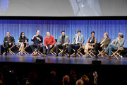 Show Creator Armando Iannucci, Julia Louis-Dreyfus, Tony Hale, Matt Walsh, Reid Scott, Timothy Simons, Sufe Bradshaw, Kevin Dunn, Gary Cole, on stage at The Paley Center For Media's PaleyFest 2014 Honoring 'Veep' at Dolby Theatre on March 27, 2014 in Hollywood, California.