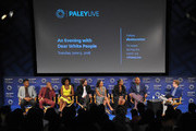 "Cast and creator participate in the panel during An Evening With ""Dear White People"" at The Paley Center for Media on June 5, 2018 in Beverly Hills, California."