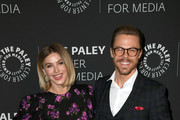 (L-R) Julianne Hough and Derek Hough attend The Paley Center For Media Presents: An Evening with Derek Hough and Julianne Hough at The Paley Center for Media on December 05, 2019 in Beverly Hills, California.