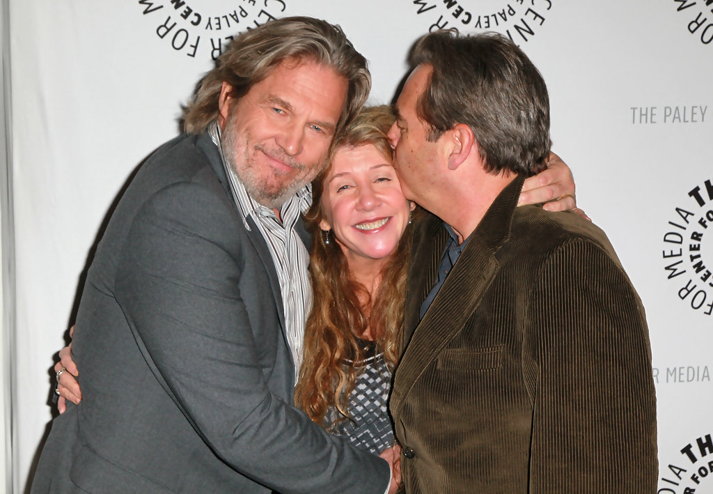 Beau Bridges and Cindy...