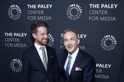 Dickey Dibella  and Robin Lord Taylor attends The Paley Honors: A Gala Tribute To LGBTQ at The Ziegfeld Ballroom on May 15, 2019 in New York City.