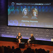 Katie Couric and Pat Mitchell