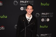 Actor Robin Lord Taylor attends the PaleyFest New York 2016  'Gotham' at The Paley Center for Media on October 19, 2016 in New York City. / AFP / ANGELA WEISS